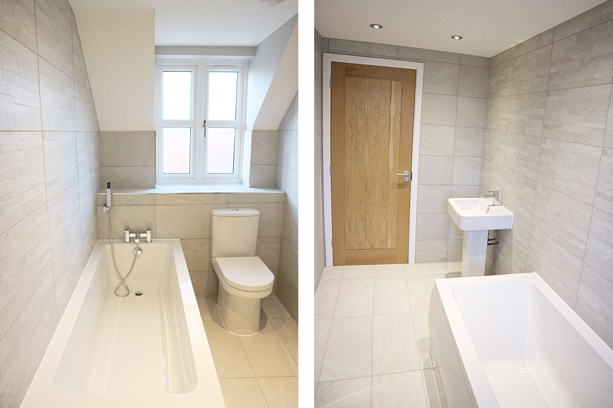 The Pembroke at Mill Fields, South Kilworth (Plot 10) Bathroom