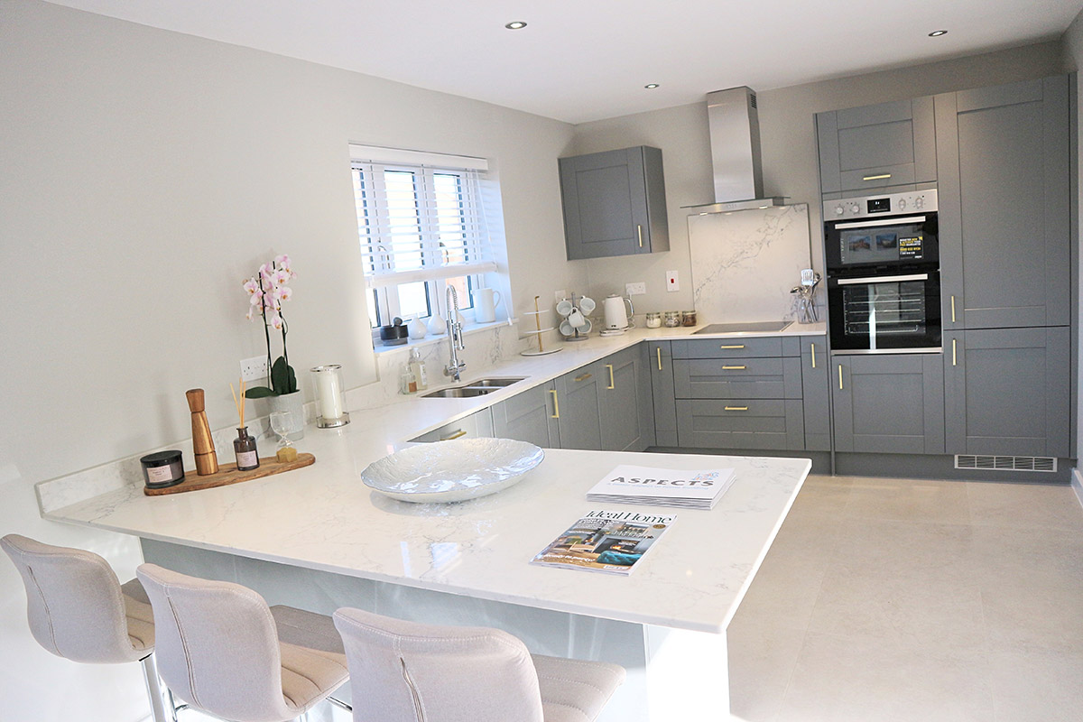 The Pembroke at Mill Fields, South Kilworth (Plot 6) Kitchen