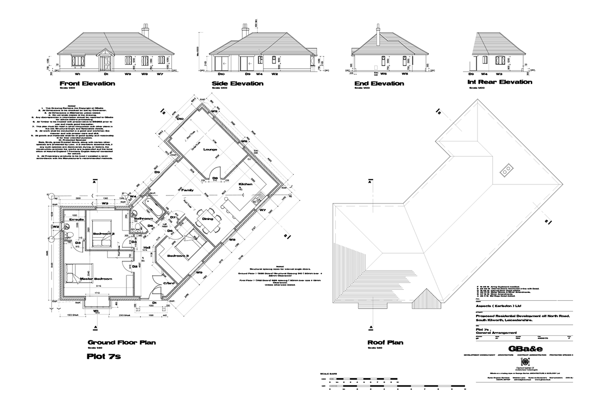 Mill Fields South Kilworth Plot 7 The Pembroke Plans